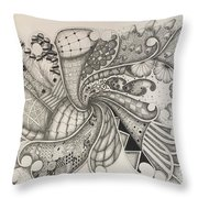 From The Middle Throw Pillow