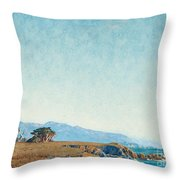 From The  Mile Drive Throw Pillow