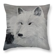 From The Mist Of The Moon Throw Pillow