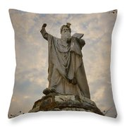 From The Mountain On High Throw Pillow