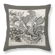 From The Right Throw Pillow