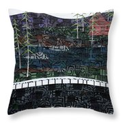From The Road #24 Throw Pillow