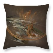 From The Shire To Mordor Throw Pillow