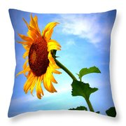 From The Side Throw Pillow