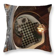 From The Top Looking Down Throw Pillow