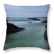From The Top Of A Rock Throw Pillow
