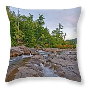 From The Top Of The Falls Throw Pillow
