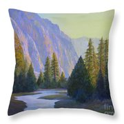 From The Trail Throw Pillow