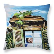 From The Window Throw Pillow