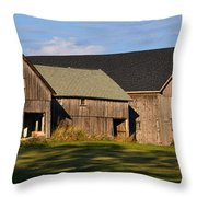 From Thy Labors Rest Throw Pillow