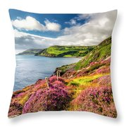 From Torr To Cushendall Throw Pillow