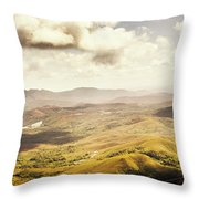 From Zeehan To Trial Harbour Throw Pillow
