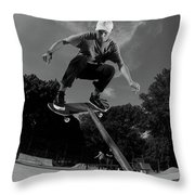 Front Board Jam Throw Pillow