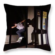 Front Crook Reflection Throw Pillow