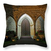 Front Door Christ Church Cathedral 1 Throw Pillow