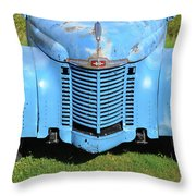 Front End Of International Throw Pillow
