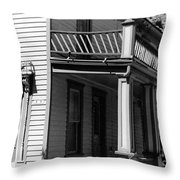 Front Porch Throw Pillow