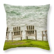 Front Row 0054 Throw Pillow