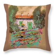 Frontale Throw Pillow