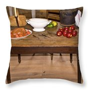 Frontier Table Throw Pillow