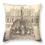 Frontispiece Throw Pillow