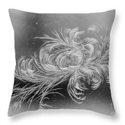 Frost 2 Throw Pillow