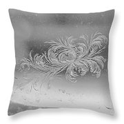 Frost 3 Throw Pillow