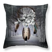Frost Bitten Throw Pillow