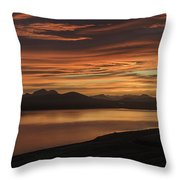 Frostakjoahals Ridge Iceland 1234 Throw Pillow