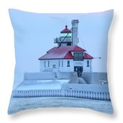 Frosted Throw Pillow