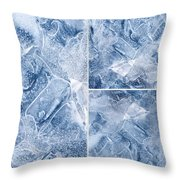 Frostwork ...2584 Throw Pillow