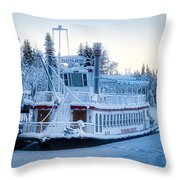 Frozen Attraction Throw Pillow
