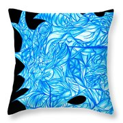 Frozen Desire Throw Pillow