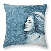 Frozen Dreams Throw Pillow