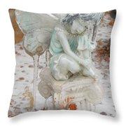 Frozen Fairy Throw Pillow