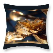 Frozen Fairy Throw Pillow