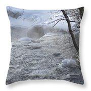 Frozen Magic Time Throw Pillow
