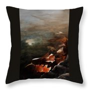 Frozen Memories Throw Pillow