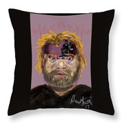 Fruedian Voices Throw Pillow