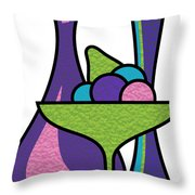 Fruit Compote Throw Pillow