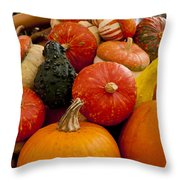 Fruit Of The Harvest Throw Pillow