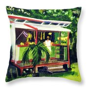 Fruit Stand North Shore Oahu Hawaii #163 Throw Pillow