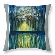 Fruit Trees #5 Throw Pillow