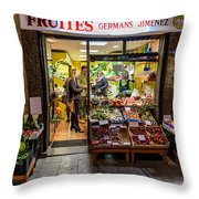 Fruites Throw Pillow