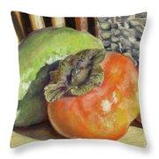 Fruits Of Autumn Throw Pillow