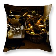 Fruits Of France Throw Pillow