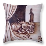 Fruits Of Love Throw Pillow