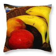 Frutta Rustica Throw Pillow