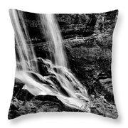 Fry Falls Overlook Throw Pillow