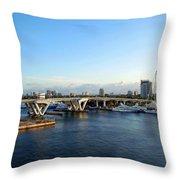 Ft. Lauderdale, Florida Throw Pillow